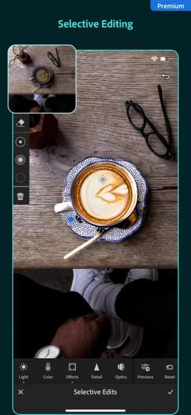 adobe lightroom 277x600 - Top ứng dụng chụp đồ ăn nhìn thật hấp dẫn trên iPhone