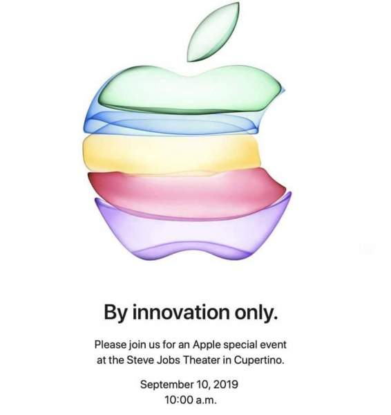 apple innovation 566x600 - Apple gửi thư mời sự kiện ra mắt iPhone 11