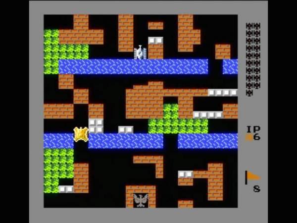 battle city 600x450 - Top game bắn xe tăng cổ điển mà bạn phải thử