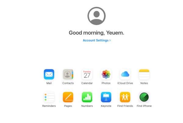 beta icloud 2 600x403 - Cách dùng thử giao diện iCloud mới của Apple (và Lời nhắc)