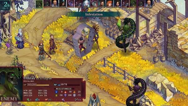 fell seal arbiters mark switch screenshot 2 600x338 - Đánh giá game Fell Seal: Arbiter's Mark phiên bản Switch