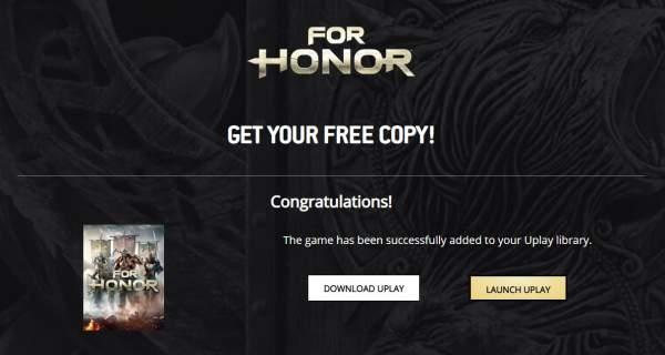 for honor 2 600x320 - Đang miễn phí game For Honor: Standard Edition trên Uplay