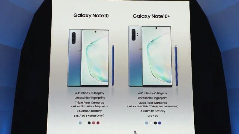 galaxy note 10 1 800x450 - Galaxy Note 10 và Note 10 Plus mới ra mắt có gì mới?