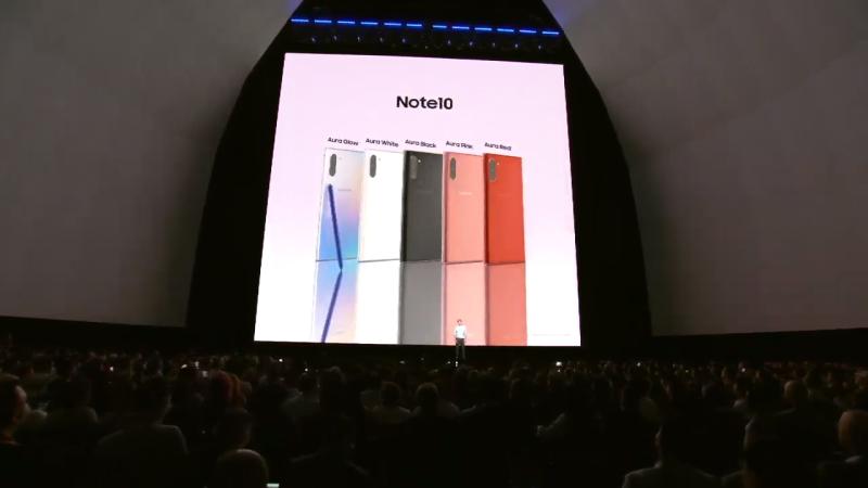 galaxy note 10 4 800x450 - Galaxy Note 10 và Note 10 Plus mới ra mắt có gì mới?
