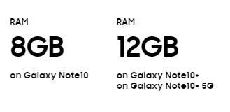 galaxy note 10 4 - Galaxy Note 10 và Note 10 Plus mới ra mắt có gì mới?