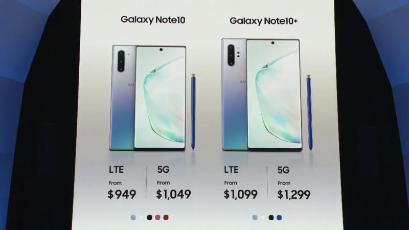 galaxy note 10 6 800x450 - Galaxy Note 10 và Note 10 Plus mới ra mắt có gì mới?