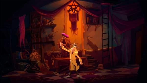 gibbous a cthulhu adventure screenshot 1 600x338 - Đánh giá game Gibbous: A Cthulhu Adventure