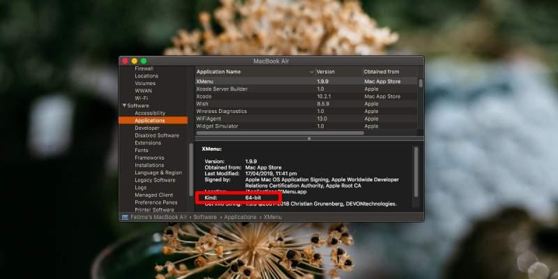 Cách kiểm tra ứng dụng 32-bit trên macOS 2