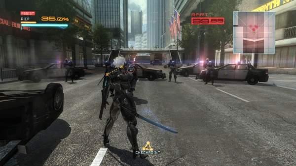 metal gear rising revengence 1280x720 raiden 600x338 - Top những tựa game cho bạn thỏa thích hóa thân thành một Ninja