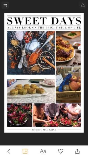moldiv 1 338x600 - Top ứng dụng chụp đồ ăn nhìn thật hấp dẫn trên iPhone