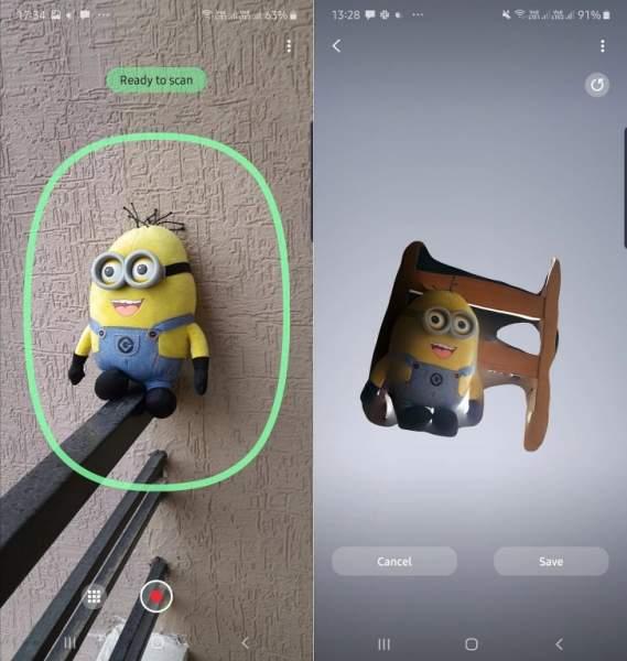 note 10 3d scanner 3 569x600 - Đã có ứng dụng 3D Scanner dành cho Galaxy Note 10+