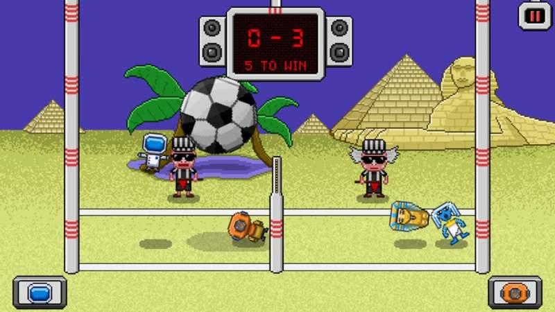 pixel volley 800x450 - Top game thể thao dị và lạ trên iPhone