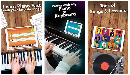 simply piano - Cách học đàn piano trên điện thoại