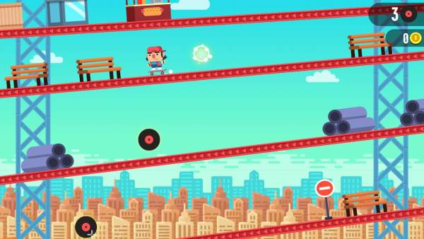 tap skaters switch screenshot 1 600x338 - Đánh giá game Tap Skaters