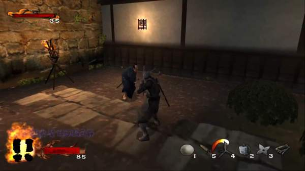 tenchu 3 wrath of heave 08 600x338 - Top những tựa game cho bạn thỏa thích hóa thân thành một Ninja