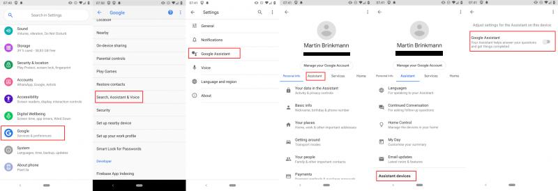 Cách tắt tìm kiếm bằng giọng nói trên Android 2
