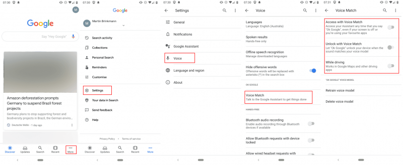 Cách tắt tìm kiếm bằng giọng nói trên Android 1