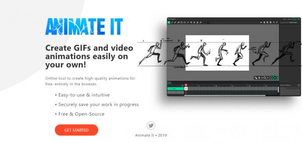 Tạo video hoạt hình, ảnh động với ANIMATE IT 1