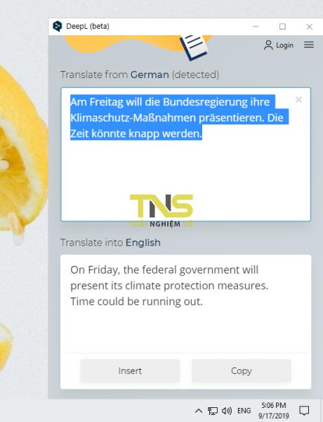 2019 09 17 17 06 40 460x600 - Dùng DeepL dịch văn bản sao chép từ mọi ứng dụng