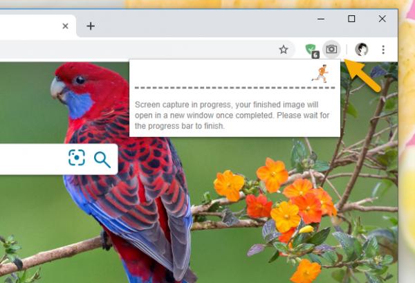 2019 09 30 16 50 40 600x409 - Chụp ảnh màn hình toàn trang web trên Chrome, hãy chọn One Click Full Page Screenshot