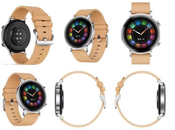 Huawei Watch GT 2 ra mắt, 2 kích cỡ, 4 phiên bản màu 1