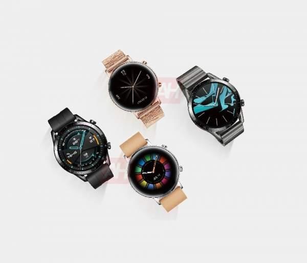Huawei Watch GT 2 ra mắt, 2 kích cỡ, 4 phiên bản màu 2