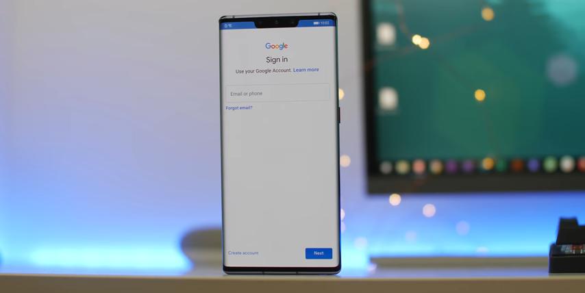 Cách cài ứng dụng Google vào Huawei Mate 30 Pro 6