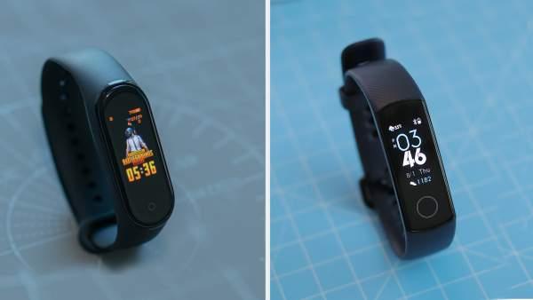 Xiaomi Mi band 4 vs Honor Band 5 600x338 - Chọn vòng đeo tay thông minh: Mi Band 4 hay Honor Band 5?