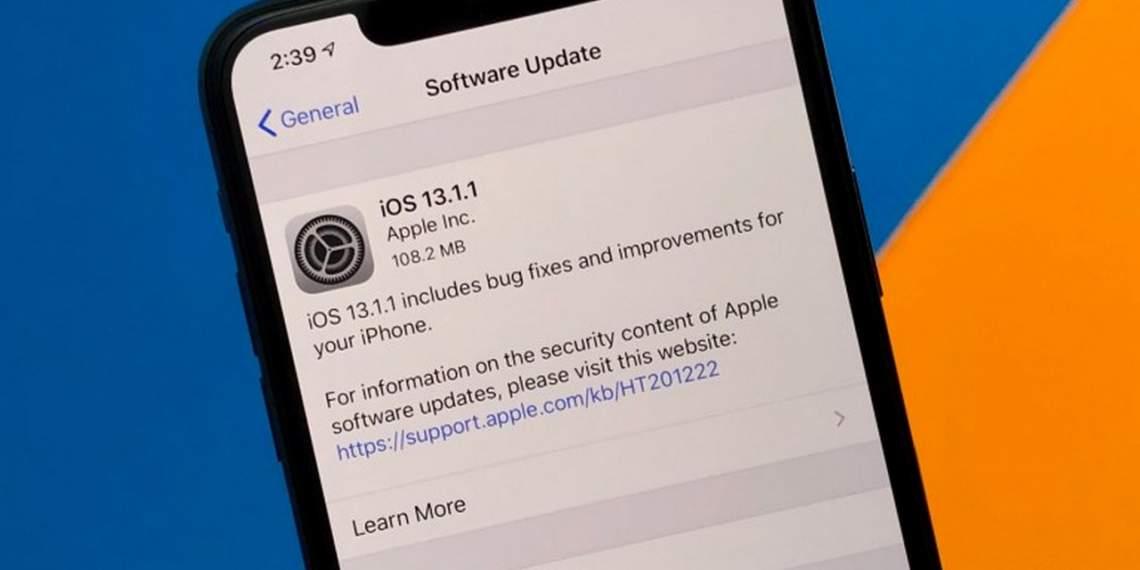 Apple ra mắt iOS và iPadOS 13.1.1 để sửa lỗi
