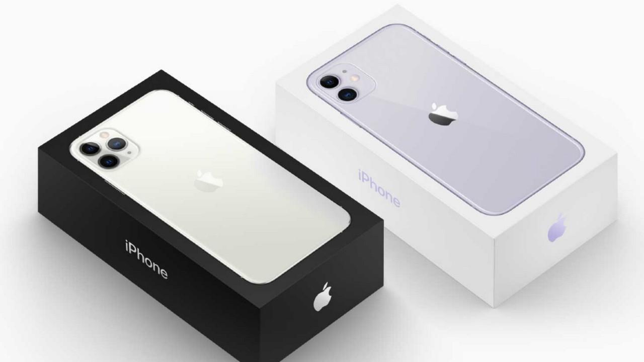 iPhone 11 và iPhone 11 Pro quay trở lại với vỏ hộp màu đen