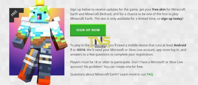 minecraft earth 1 800x346 - Mời bạn đăng ký chơi Minecraft Earth, tháng 10 chơi được