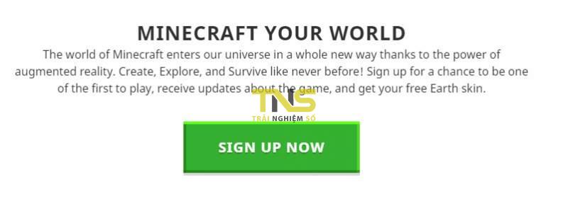 minecraft earth 800x298 - Mời bạn đăng ký chơi Minecraft Earth, tháng 10 chơi được