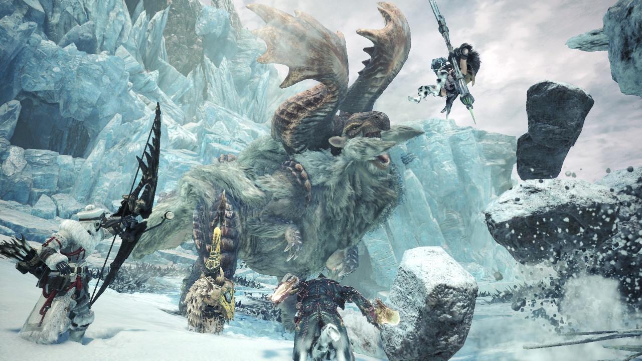 Đánh giá game Monster Hunter World: Iceborne