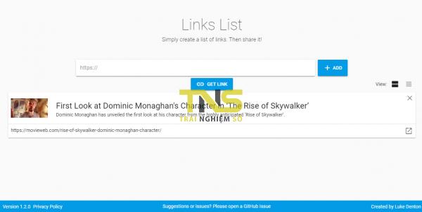 2019 10 07 15 18 52 600x302 - Links List: Tạo danh sách chia sẻ liên kết không giới hạn