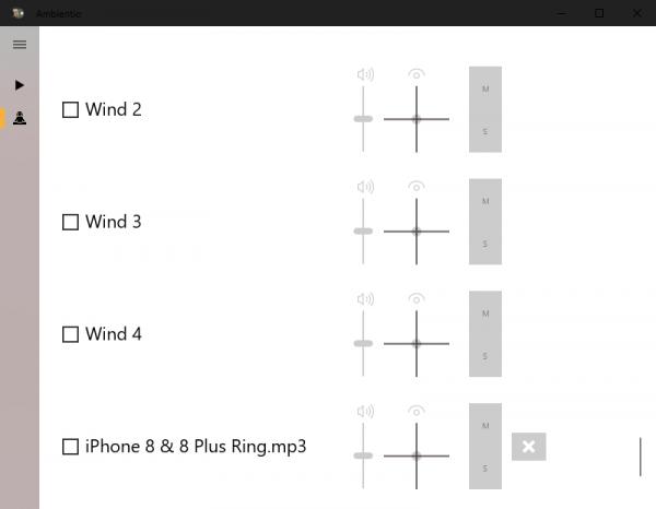 2019 10 09 15 15 34 600x466 - Ambientio: Ứng dụng UWP giúp bạn thư giãn bằng âm thanh trên Windows 10