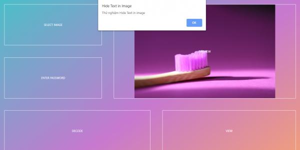 2019 10 11 19 06 47 600x301 - Giấu nội dung văn bản quan trọng vào hình ảnh với Hide Text in Image