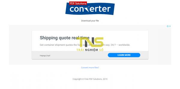 2019 10 12 16 54 51 600x297 - Chuyển đổi PDF miễn phí ra hàng chục định dạng và ngược lại