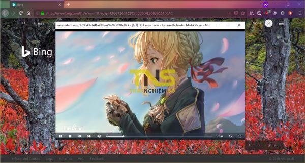 2019 10 13 15 33 56 600x322 - Phát video trên máy tính bên trong Chrome, Firefox