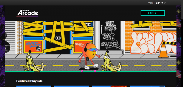 2019 10 17 11 09 18 600x286 - GIPHY Arcade: Tạo game miễn phí bằng ảnh động GIF