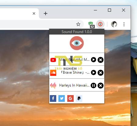 2019 10 18 16 51 32 - Quản lý tất cả tab phát âm thanh trên Chrome trong một nơi