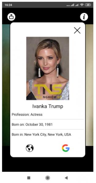 """2019 10 21 16 48 55 314x600 - Dùng CelebrityFace nhận dạng """"người ấy là ai"""""""