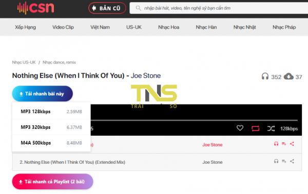 2019 10 26 15 27 13 600x379 - Tải album nhạc trên Chiasenhac chỉ với 2 cú click