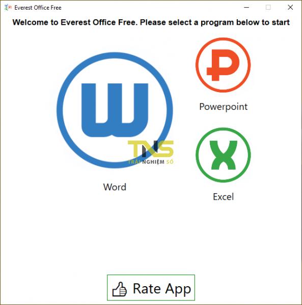 2019 10 27 16 04 41 593x600 - Everest Office Free: Bộ ứng dụng văn phòng miễn phí cho Windows 10
