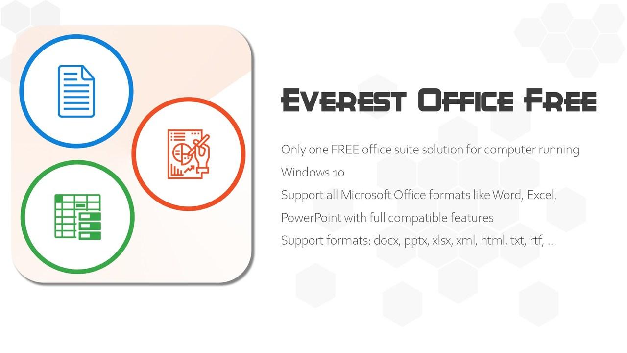Everest Office Free - Tổng hợp 6 ứng dụng UWP chọn lọc cho Windows 10 nửa đầu tháng 11/2019