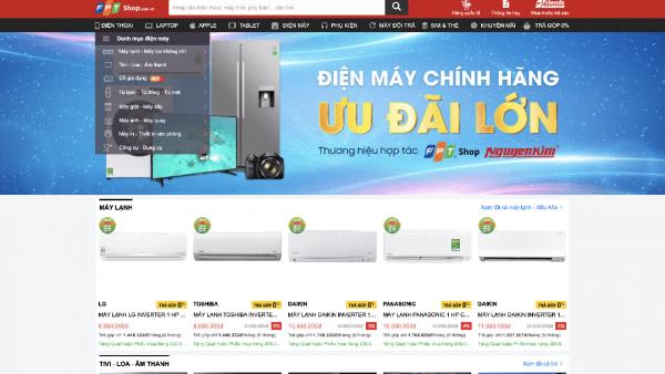 FPT Shop dừng bán hàng điện máy sau nửa năm hợp tác với Nguyễn Kim