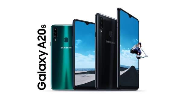 Galaxy A20s KVs 600x338 - Samsung Galaxy A20s ra mắt, 3 camera, có sạc nhanh siêu tốc, giá từ 4.39 triệu đồng
