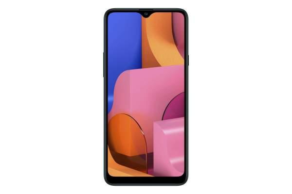Galaxy A20s Mặt trước 600x400 - Samsung Galaxy A20s ra mắt, 3 camera, có sạc nhanh siêu tốc, giá từ 4.39 triệu đồng