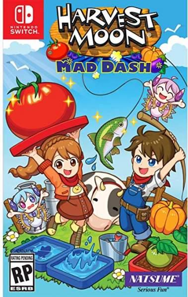 Harvest Moon Mad Dash 379x600 - Game mới 2019: Tháng 10 có 11 bom tấn mới