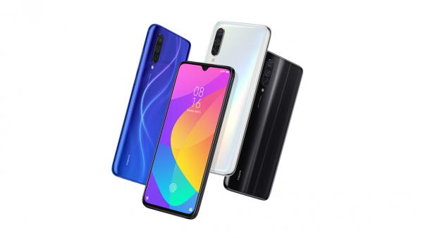 Mi 9 Lite – smartphone có thiết kế logo led đổi màu 2