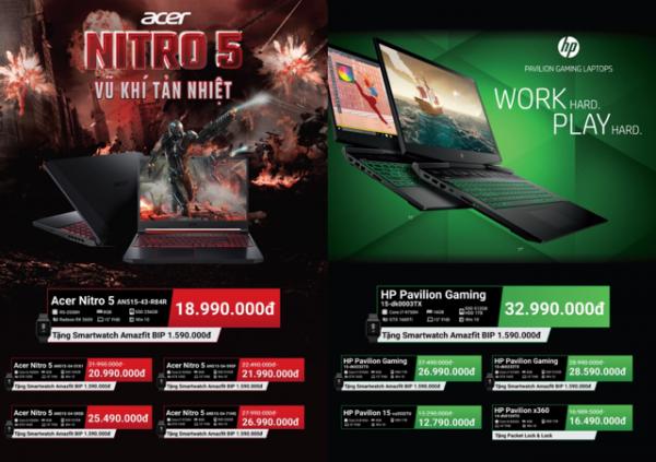 PastedGraphic 6 600x423 - Laptop gaming nào được giảm giá và tặng kèm smartwatch tại Phong Vũ?
